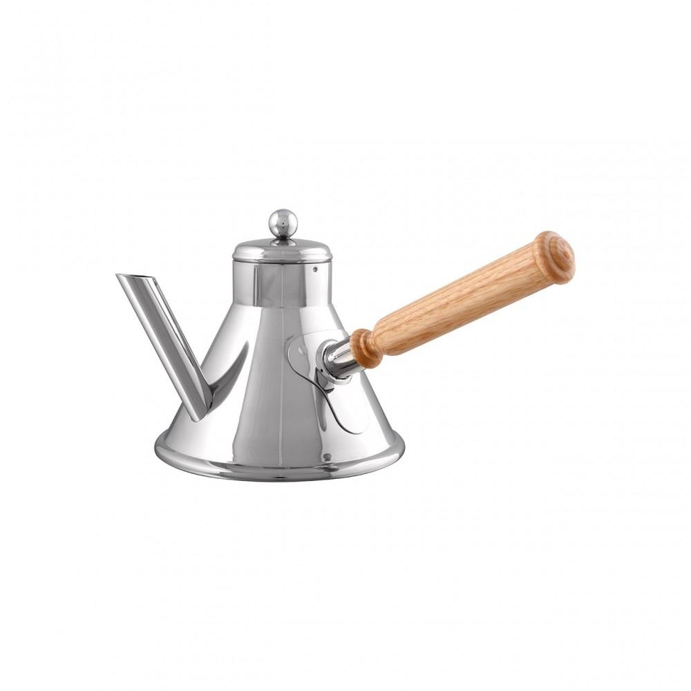 Verseuse à café Inox manche bois SERVICE EN SALLE