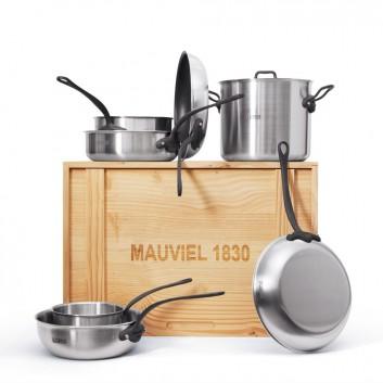 Set Mauviel1830 x LA CORNUE