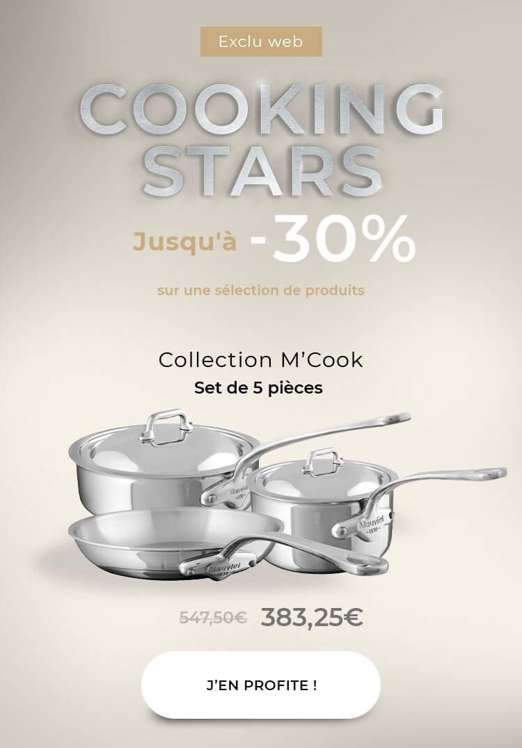 Mauviel M'cook's Cookware set