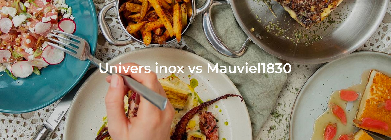 Mauviel stainless steel saucepan