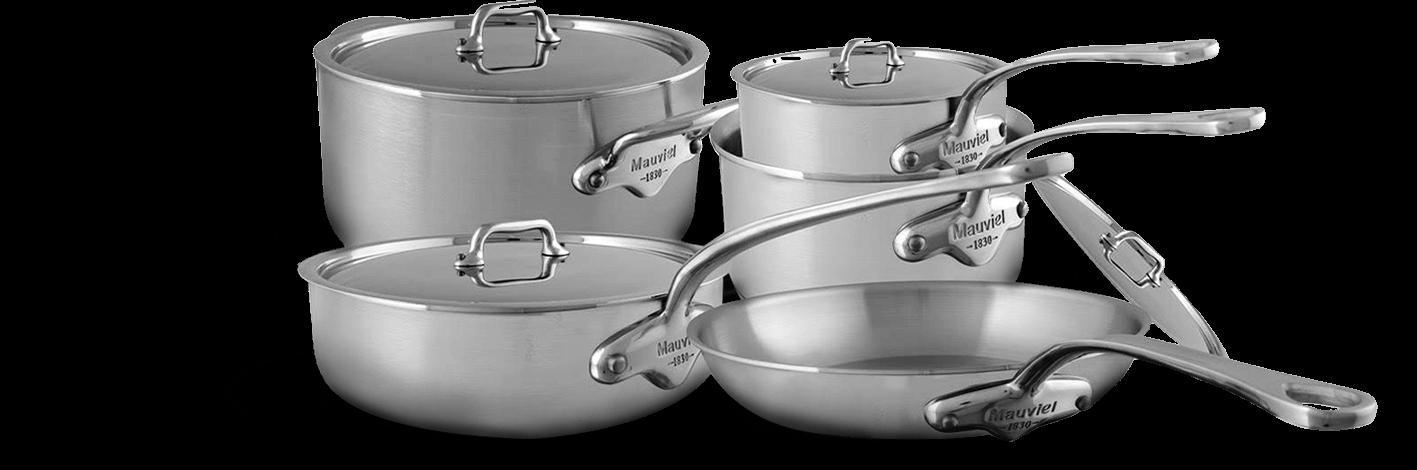 Mauviel M'urban's Cookware set